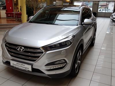 Hyundai Tucson 2,0 CRDI 4WD Platin Aut. bei BM || Autoschober in